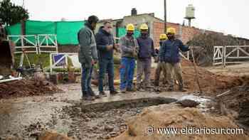 Fernando Gray supervisó una obra hídrica en Monte Grande - El Diario Sur