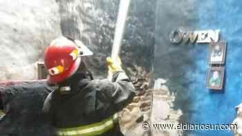 Conmoción en Monte Grande por el incendio de la habitación de un bebé - El Diario Sur