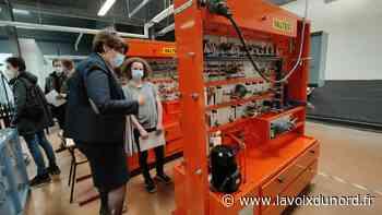 Un sésame européen pour les formations en hydraulique du lycée d'Haubourdin - La Voix du Nord