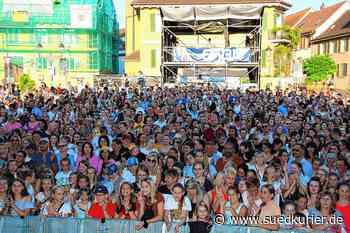 Markdorf: Ein Open-Air auf dem Marktplatz: Am Samstag steigt in Markdorf das erste große Musikevent seit Beginn der Pandemie - SÜDKURIER Online