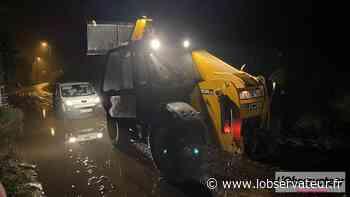 Jeumont/Marpent : encore des inondations dans les rues de Colleret et Salengro - L'Observateur