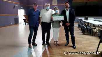 Saint-Hilaire-de-Lusignan : remise de chèque pour l'ADMR - ladepeche.fr