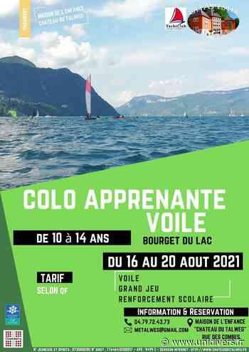 COLO SÉJOUR MINI-CAMP VOILE YACHT CLUB CHAMBÉRY LE BOURGET DU LAC lundi 16 août 2021 - Unidivers