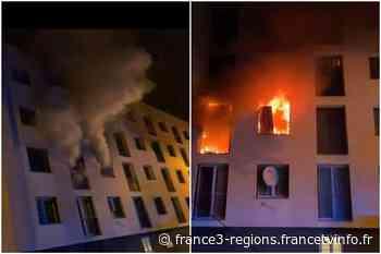 Strasbourg : incendie dans un immeuble du quartier des Ecrivains à Schiltigheim, 59 personnes évacuées - France 3 Régions