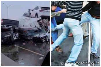 Villaricca, violenta lite dopo un tamponamento causato da un malore - Voce di Napoli