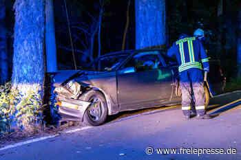 Treuen: Spritztour mit geklautem Ford Probe endet am Baum - Freie Presse