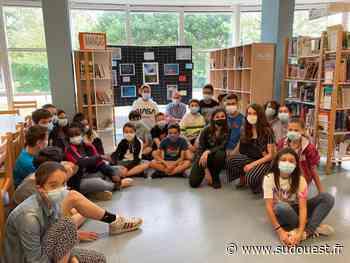 La Teste-de-Buch : un dé-vernissage au collège Henri Dheurle - Sud Ouest