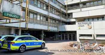 Bürgermeister von Lebach Brill kritisiert Landes-Pläne zu LVGL Polizei - Saarbrücker Zeitung