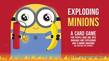 Exploding Minions Is Exploding Kittens, But With Illuminations' Minions - SuperParent