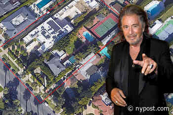 Why Al Pacino's 'dated' rental home of 15 years might be demolished - New York Post