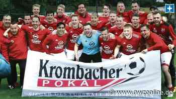 Fußball: 5:2 gegen Ahlhorn – VfR Wardenburg ist Kreispokalsieger - Nordwest-Zeitung