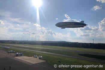 Zeppelin zu Besuch auf der Dahlemer Binz › Eifeler Presse Agentur - epa - Eifeler Presse Agentur - Nachrichten