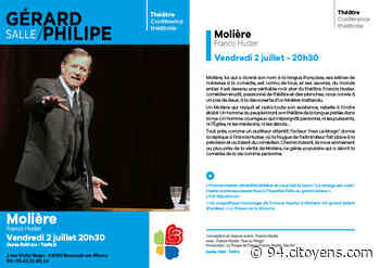 Molière avec Francis Huster à Bonneuil-sur-Marne - 94 Citoyens