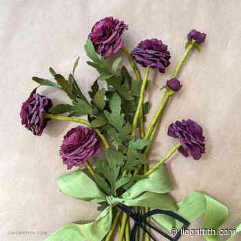 July 2021 Member Make: Purple Ranunculus