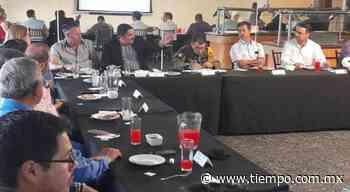 Acudió el fiscal Édgar Chaparro a Mesa de Seguridad en Parral - El Tiempo de México