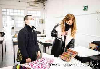 Magdalena Sierra visitó la Asociación Down de Avellaneda - Agencia El Vigía