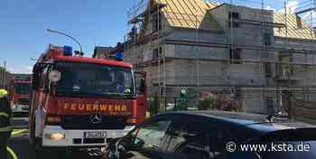 Sankt Augustin: In Mendener Neubau bricht Feuer aus - Kölner Stadt-Anzeiger