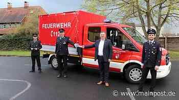 Volkach Feuerwehr Volkach erhält neues Einsatzfahrzeug - Main-Post