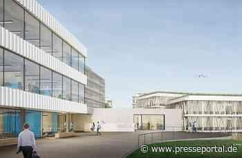 Aufnahme der Bauarbeiten für die Erweiterung des Brita-Campus in Taunusstein - Presseportal.de