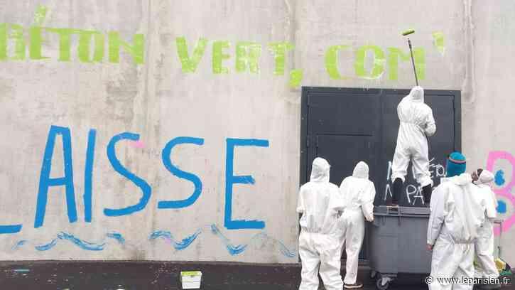 Port de Gennevilliers : contre « la bétonnisation », Extinction Rebellion a occupé quatre sites industriels - Le Parisien