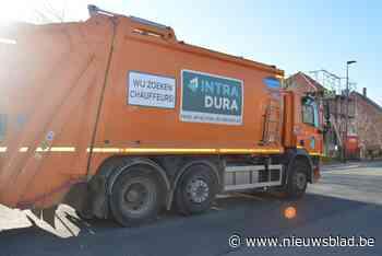 Intradura haalt maand langer oude vuilniszakken op