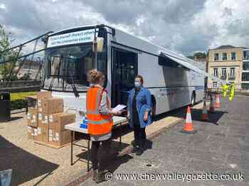 Vaccine bus returns to Bath and North East Somerset - Chew Valley Gazette