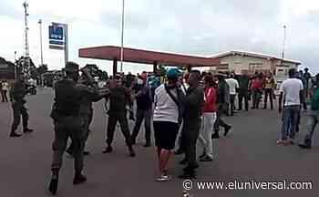 Protestan por gasolina en Sabaneta de Barinas - El Universal (Venezuela)