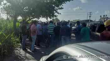 Exigen gasolina tras 18 días en cola en Sabaneta de Barinas - El Universal (Venezuela)