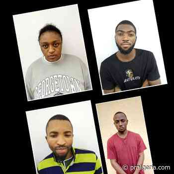 Lady, Three Others Convicted for Over $2000 Internet Fraud in Uyo - PR Nigeria