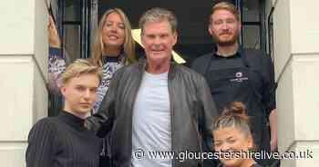 Former Baywatch star David Hasselhoff spotted in Cheltenham - Gloucestershire Live
