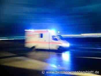 Hennigsdorf: Drei Schwerverletzte auf A111: Kind muss wiederbelebt werden   Berliner Sonntagsblatt - Berliner-Sonntagsblatt