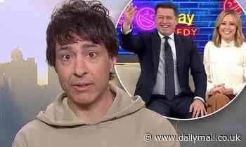 Arj Barker jokes about Byron Bay anti-vaxxers as he reveals he's received the Covid-19 vaccine - Daily Mail