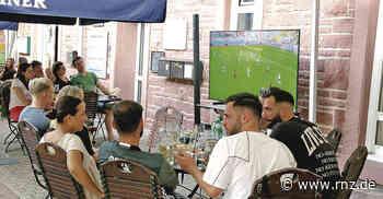 Leimen: So entspannt kann Fußballgucken sein - Rhein-Neckar Zeitung