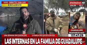Desaparición de Guadalupe: una supuesta interna familiar, mensajes en Facebook y muchas dudas - Crónica