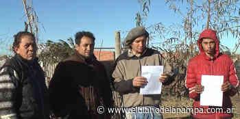 Llegaron intimaciones de desalojo a El Nuevo Salitral - El Diario de La Pampa