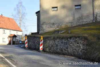 Bischofswerda: Bühlau: Sperrung wegen Stützmauerbau - Sächsische.de