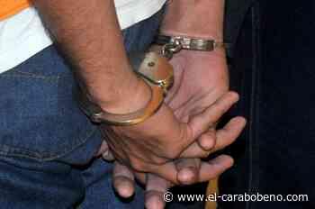 Sujeto capturado por droga en Mariara - El Carabobeño