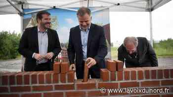 Hautmont : le Village de marques pose la première pierre d'une centaine de magasins d'usine - La Voix du Nord