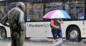 Erneut Starkregen und Gewitter in der Region - Karlsbad und Waldbronn besonders betroffen - BNN - Badische Neueste Nachrichten