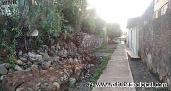 ALTAGRACIA DE ORITUCO/ Viviendas en peligro ante derrumbe de muro de contención - El Tubazo Digital