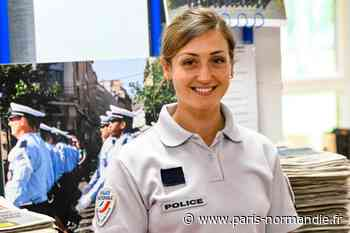 Pour Manon, élève à l'école d'Oissel, entrer dans la police « a toujours été un rêve » - Paris-Normandie