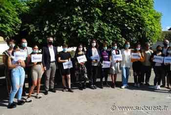 Pessac : des élèves récompensés pour avoir participé à un chantier éducatif - Sud Ouest