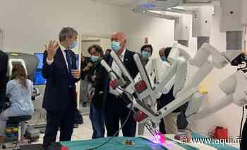 Pessac : Inauguration du centre de formation de chirurgie robotique du CHU de Bordeaux - Aqui!