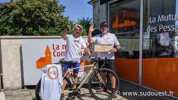 Pessac : un défi à vélo caritatif et solidaire - Sud Ouest