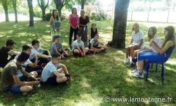 Les collégiens de la classe Ulis initiés à la lecture à voix haute - La Montagne