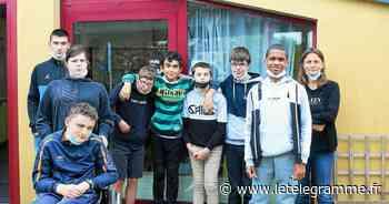 À Guipavas, les élèves de la classe Ulis du Vizac n'ont pas manqué d'idées pendant l'année - Le Télégramme
