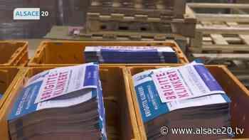 ROUFFACH : Le processus de mise sous pli des tracts électoraux. - alsace20.tv