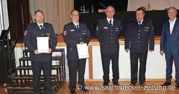 Freiwillige Feuerwehr Schwalbach hat neue Wehrführung - Saarbrücker Zeitung
