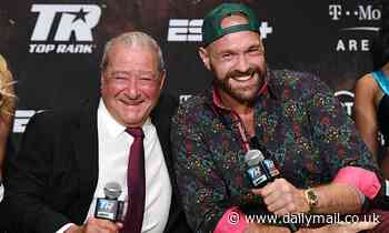 Tyson Fury's first unification bout with Anthony Joshua could take place in the UK, says Bob Arum