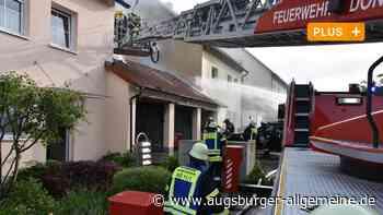 Ursache für den Brand in Riedlingen scheint klar - Augsburger Allgemeine